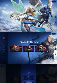 Mu SkyWorld Game Website Template